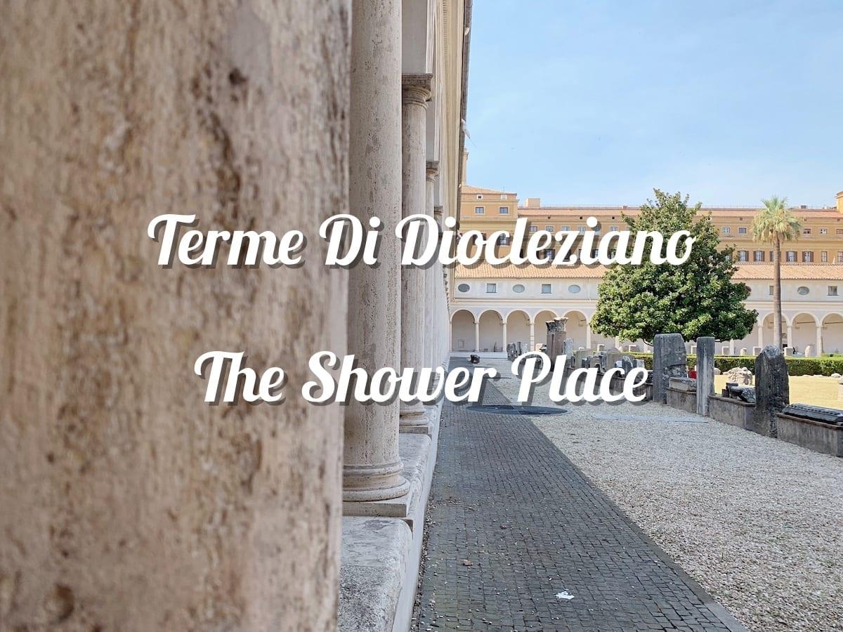 rome guide museum terme di diocleziano