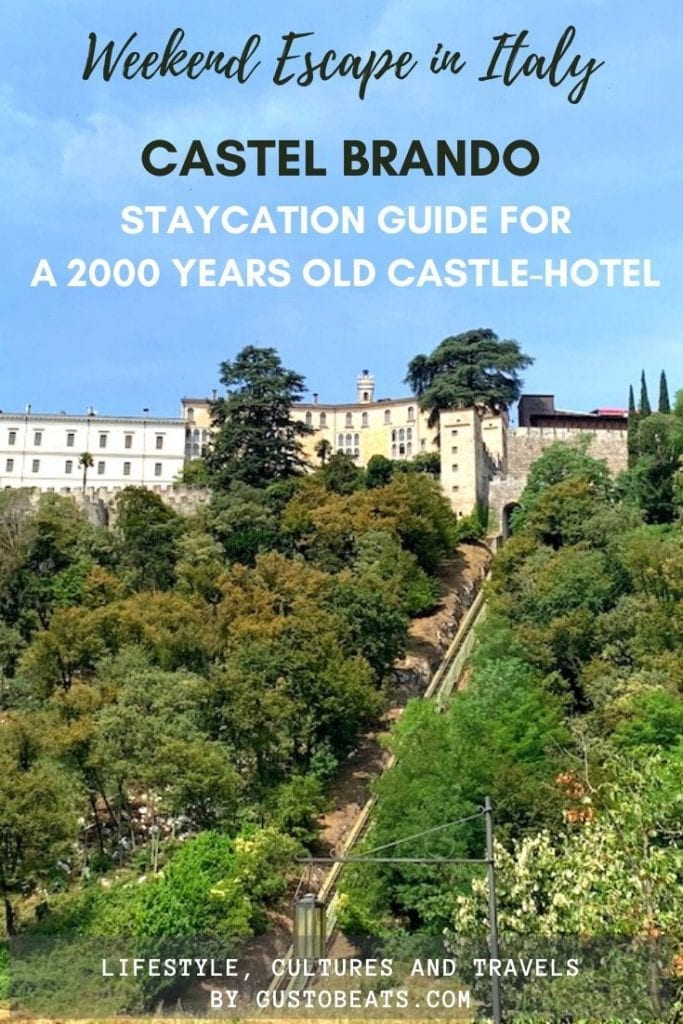 gustobeats travel in italy guide top 7 things to do in castel brando as the 2000 years old medieval castle in the northern italy