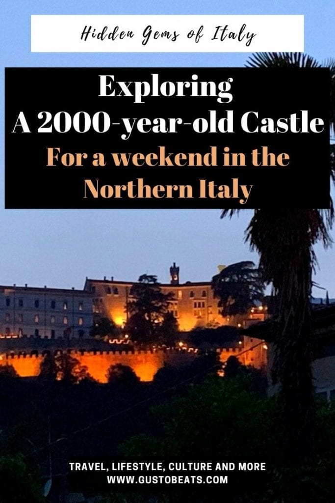 gustobeats travel in italy blog post top 7 things to do in castel brando as the 2000 years old medieval castle in the northern italy