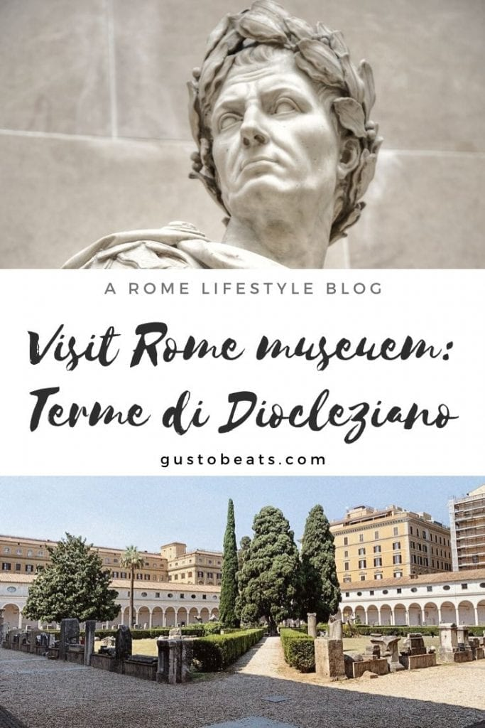 terme di diocleziano museum as part of the rome national museum have a rich collection of pre-rome and roman period sculptures