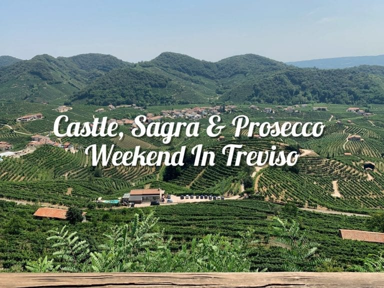 Weekend Itinerary In Treviso about castle and prosecco