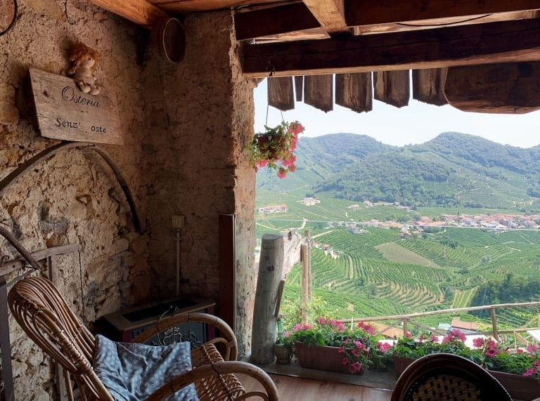 osteria senz oste is the famous bistro with no host in the alddobiadene region