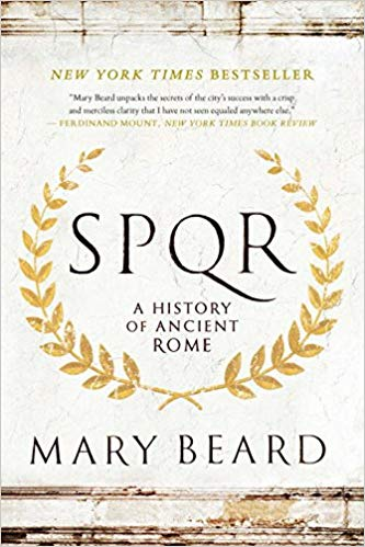 SPQR by mary beard is a book about rome history