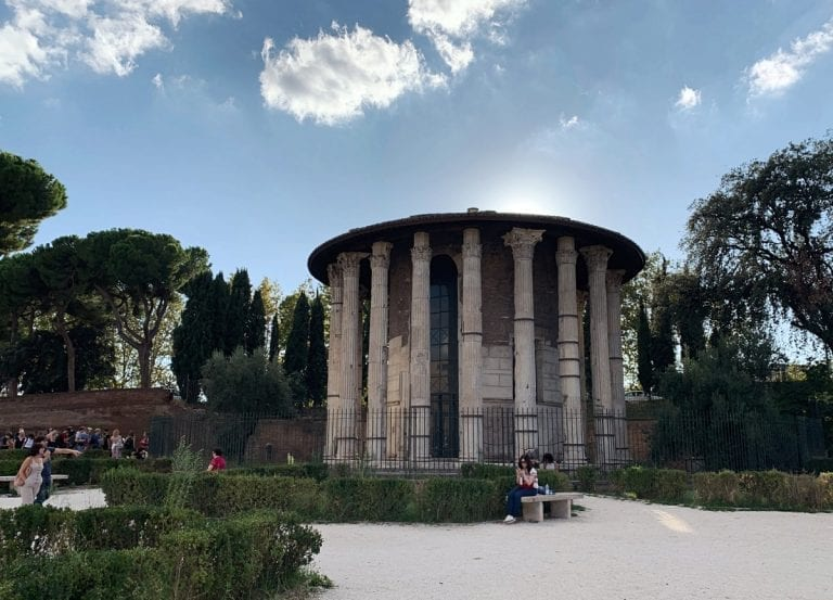 forum boario and ancient temple to tell a even much older history than Rome