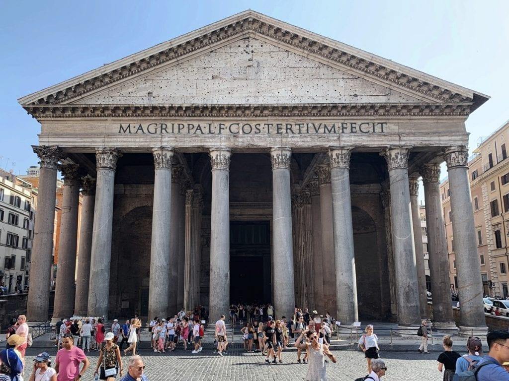 3 day rome itinerary pantheon