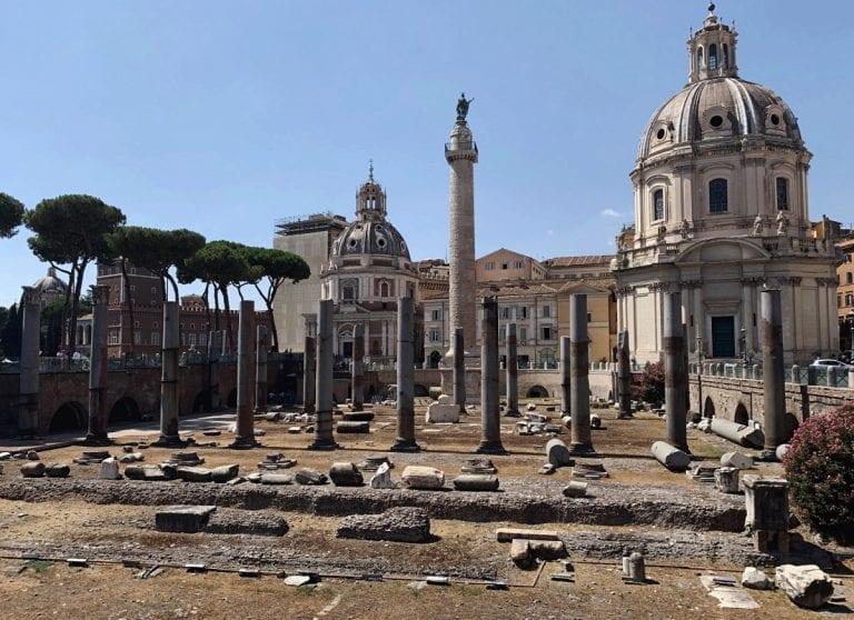 roman forum augustine forum