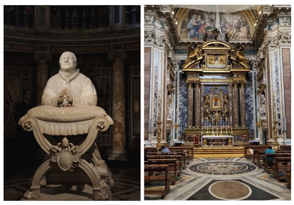 3 day rome itinerary Basilica Santa Maria Maggiore inside