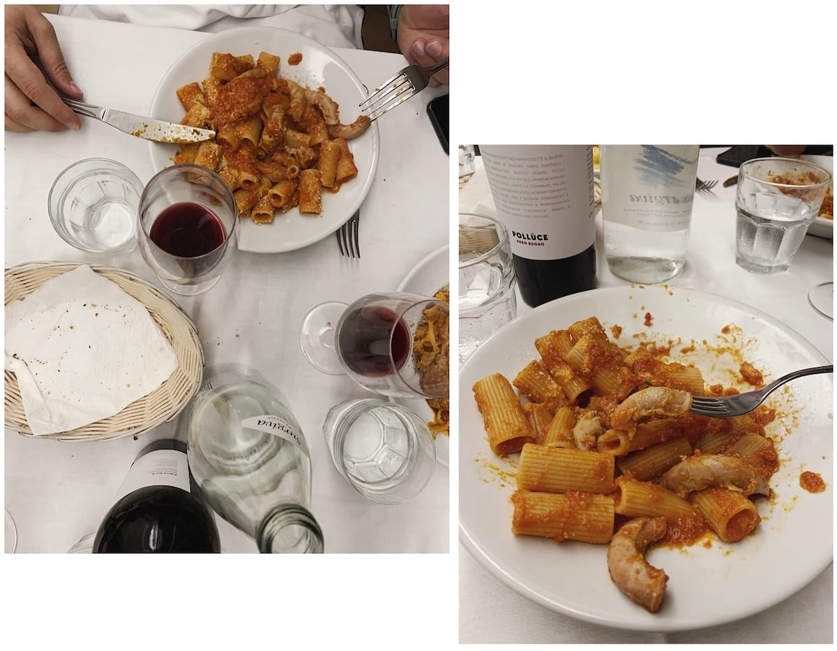 Where to eat in Rome_Velavemodetto_No Rush and We dont serve_restaurant review and what you should order in authentic Roman restaurants