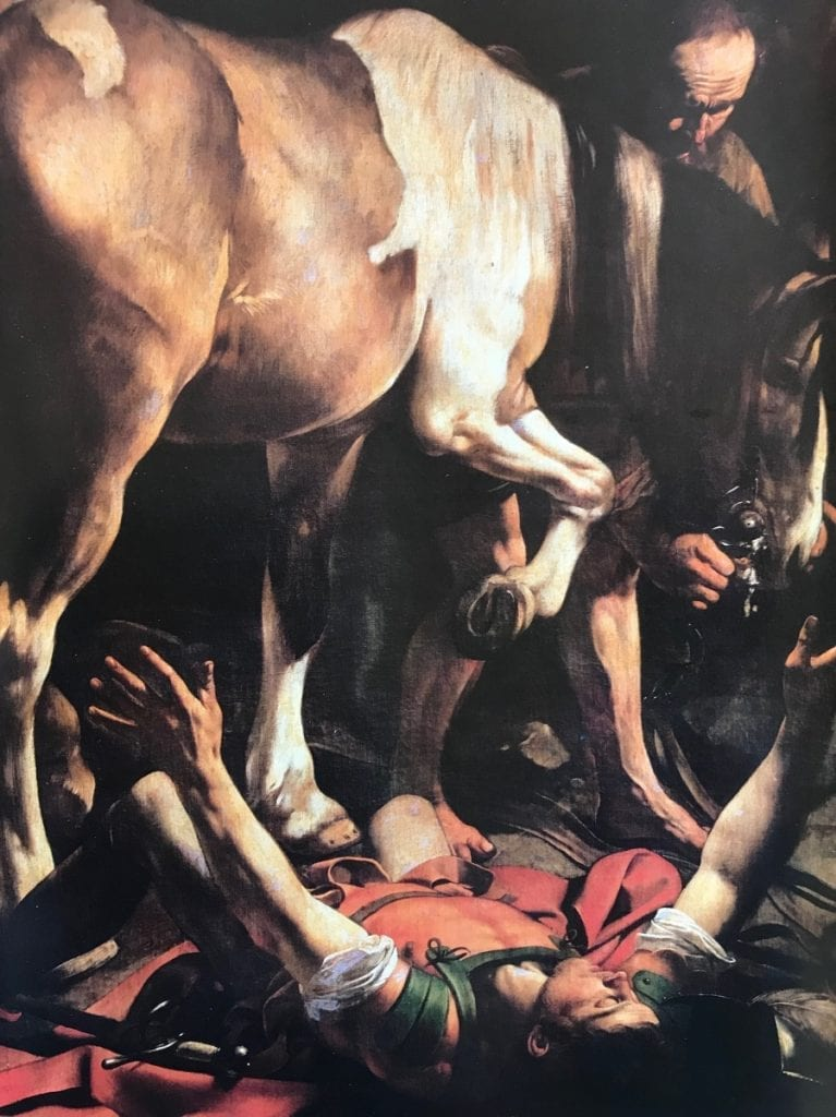 top 3 historic facts about rome for christmas_to see caravaggio paintings at santa maria de popolo