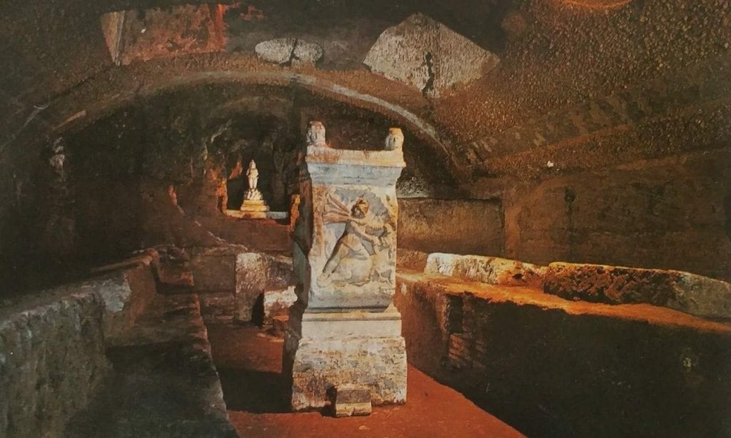 top 3 historic facts about rome for christmas_to visit mithraeum at basilica saint clement