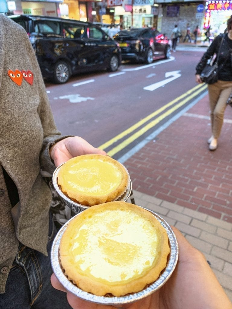 best places to visit from my 2019 footprints_hong kong egg tart