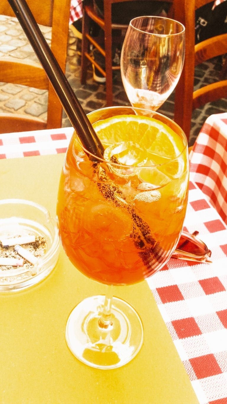 Aperol Spritz at Bistro and Wine bar Pasquino