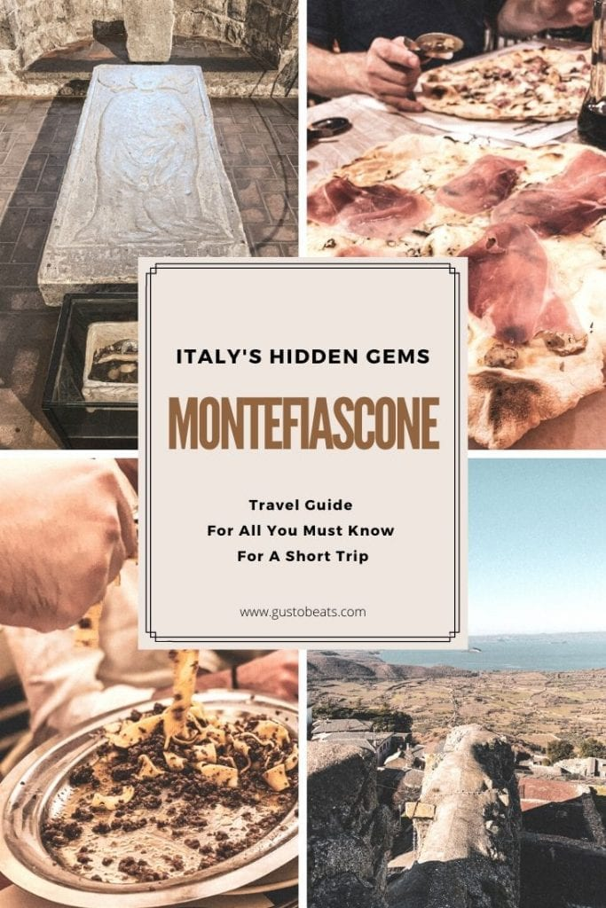 You can pin this picture to share in Pinterest to read later my Montefiascone travel guide