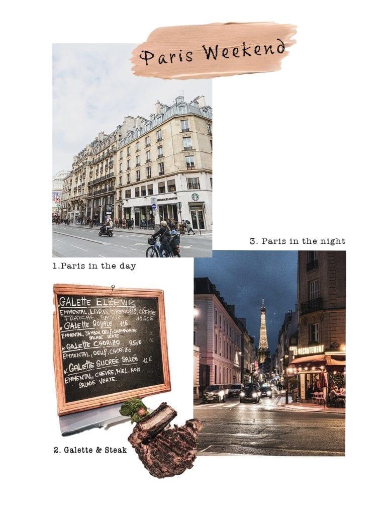a little clips of the best memories of our paris weekend trip in last week