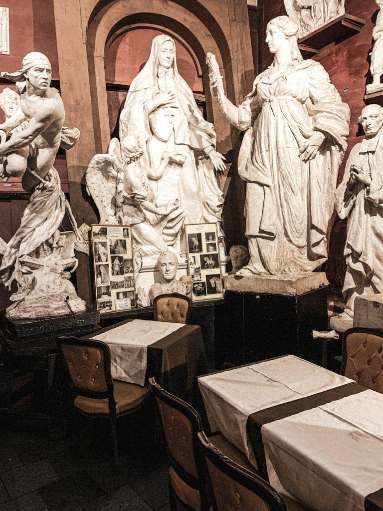the magical cafe inside museum canova tadolini