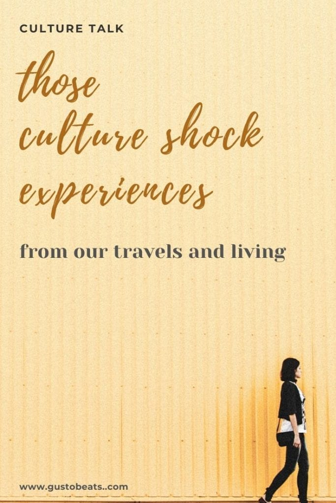 a traveller walking through as the best image to represent we walk through our lives to understand the culture shock we've encountered