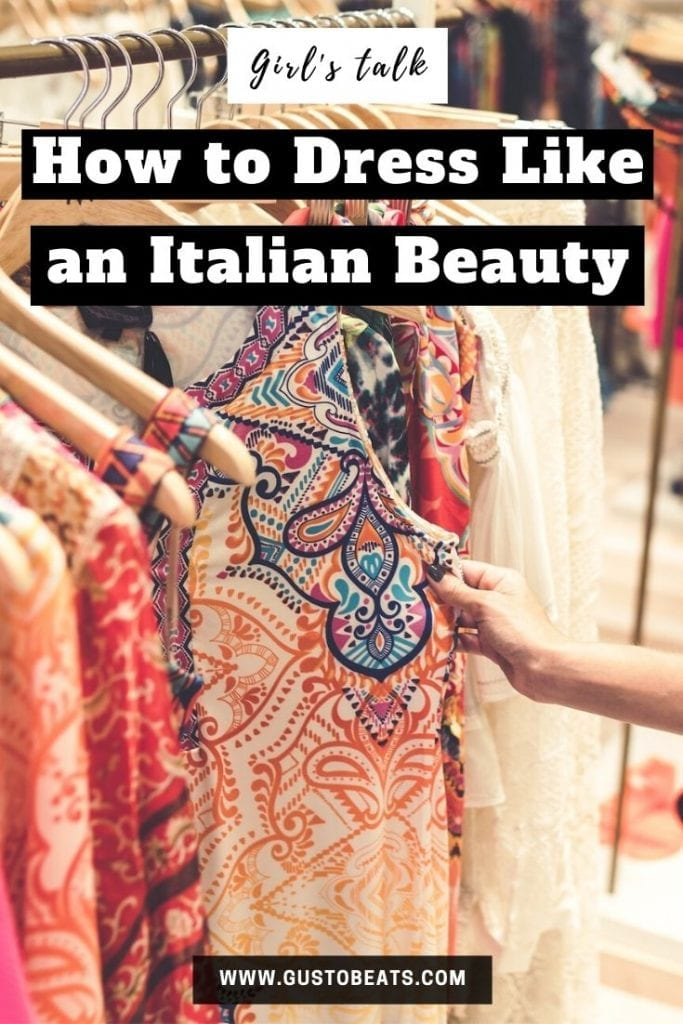 the colorful prints are the essential to the secret of the italian style