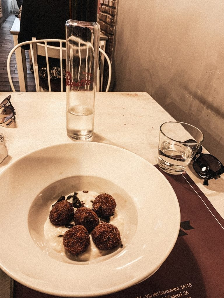 the special meatball restaurant polpetta monti with a rich selection of different polpetta recipes in cavour