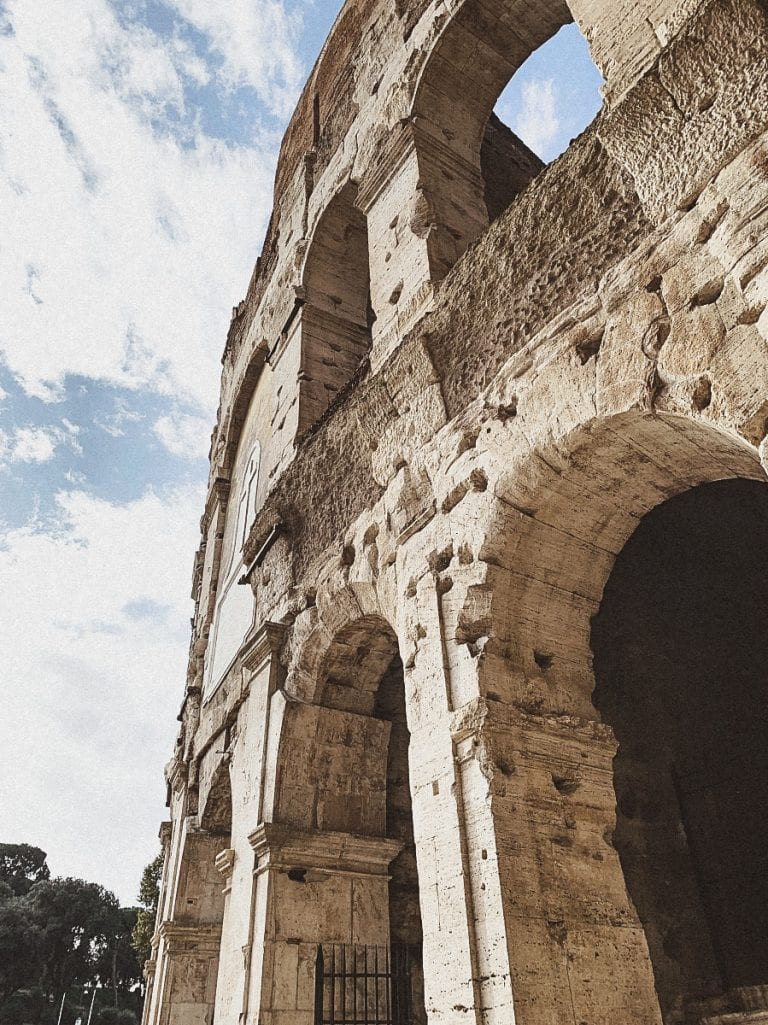 colosseum secret of its east gate where gladiators enter from the gladiator school directly