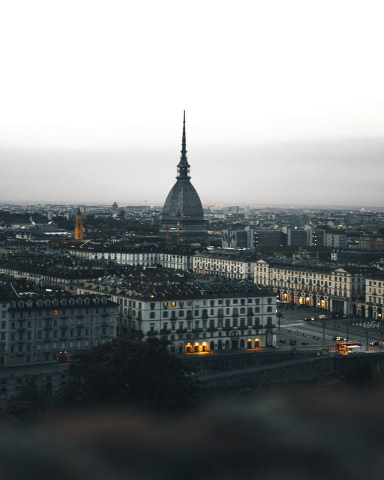 Turin was the capital city of italy long time ago and it is called little paris because of its unique beauty