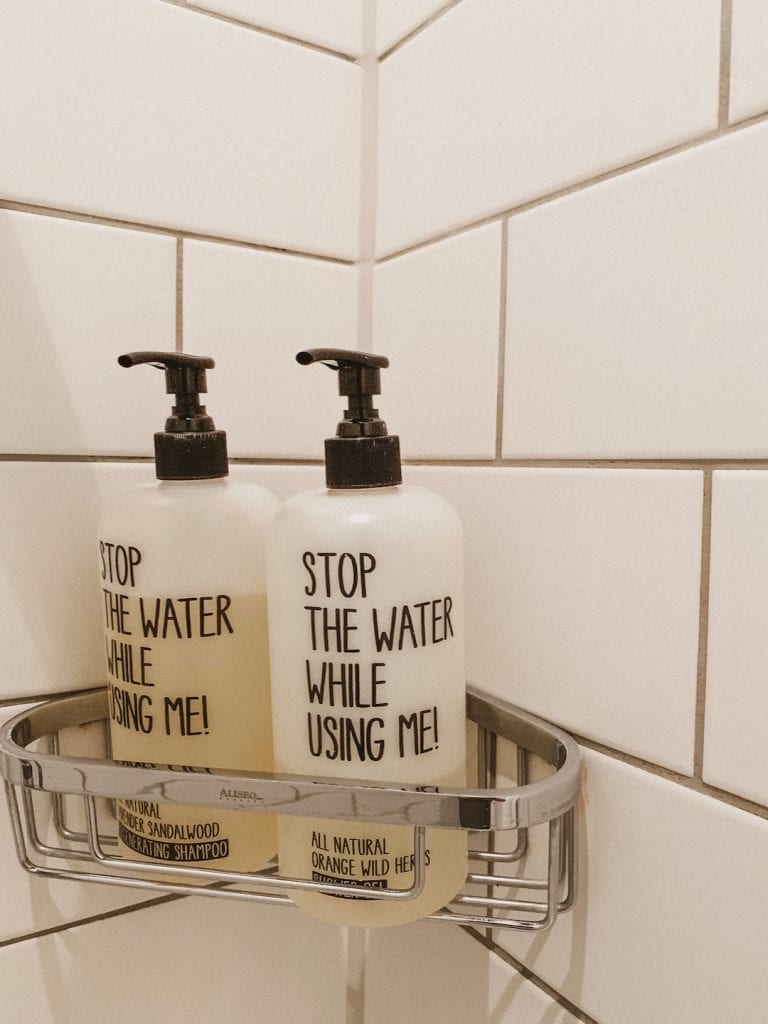 stop the water while using me is a cool toilette concept inside 25hour hotel in hamburg