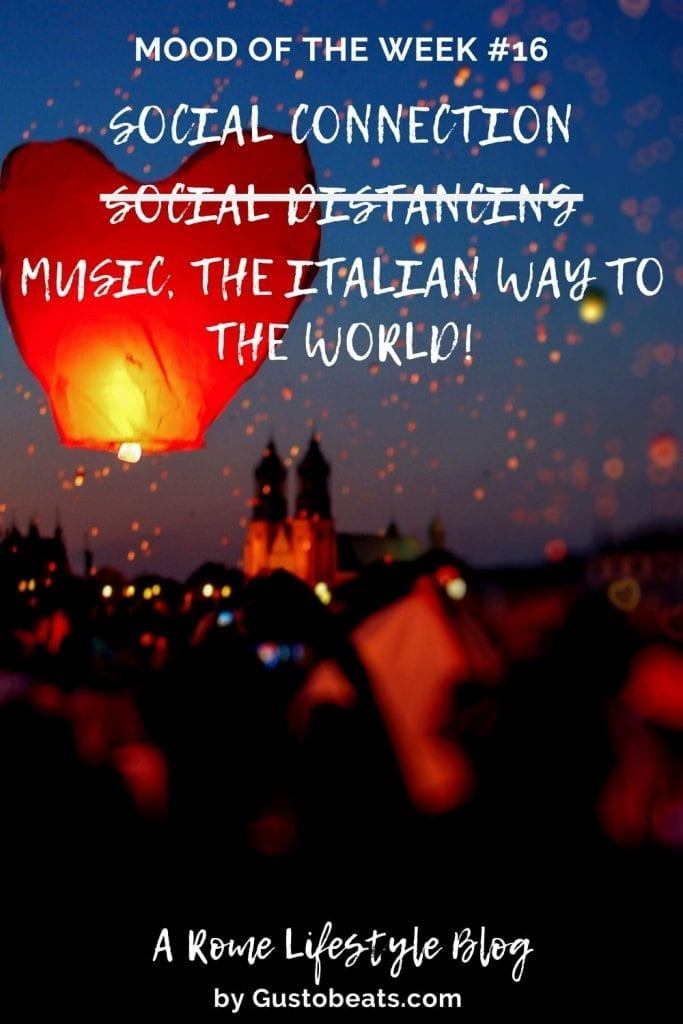 guestobeats mood of the week 16 cheering music from italy to the world pinterest pin image