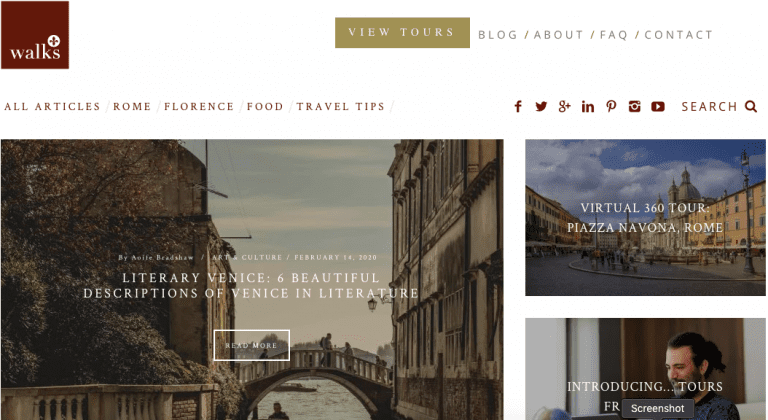 italy tour operator walks of italy also holds an amazing blog site to share very indepth and professional information about the arts and history of rome and other major italian cities