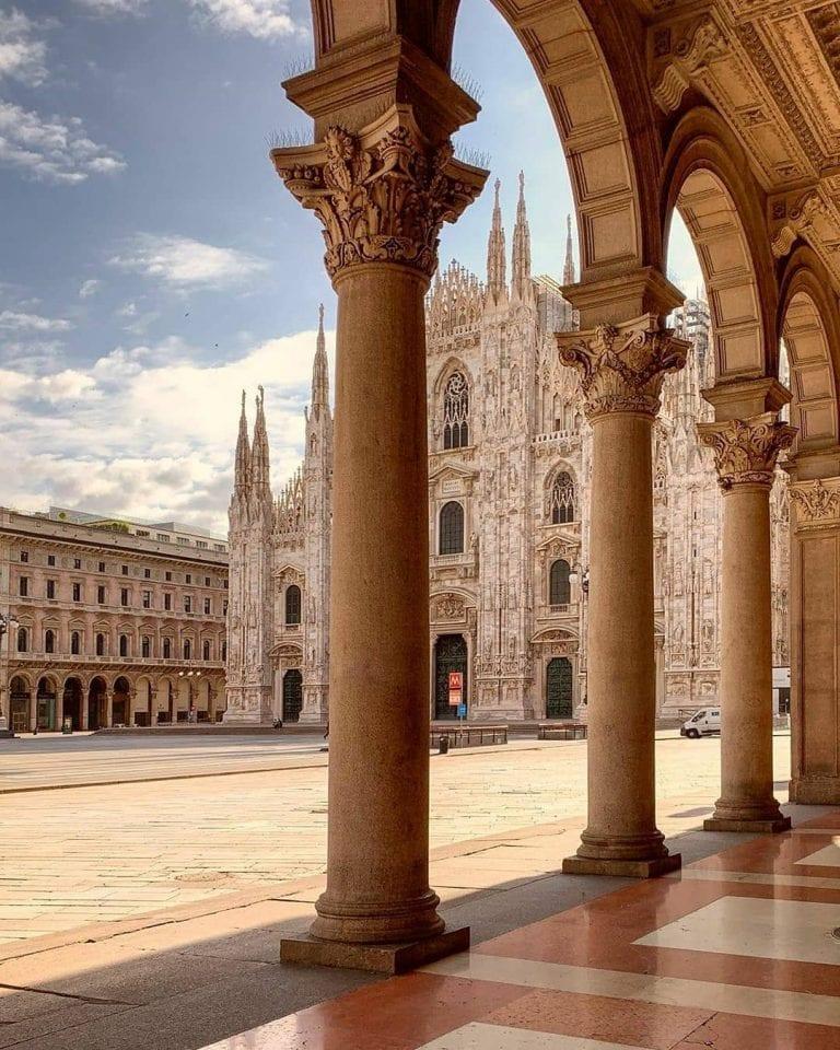 Milan Duomo in Milan italy by @beniculturali3.0 on instagram