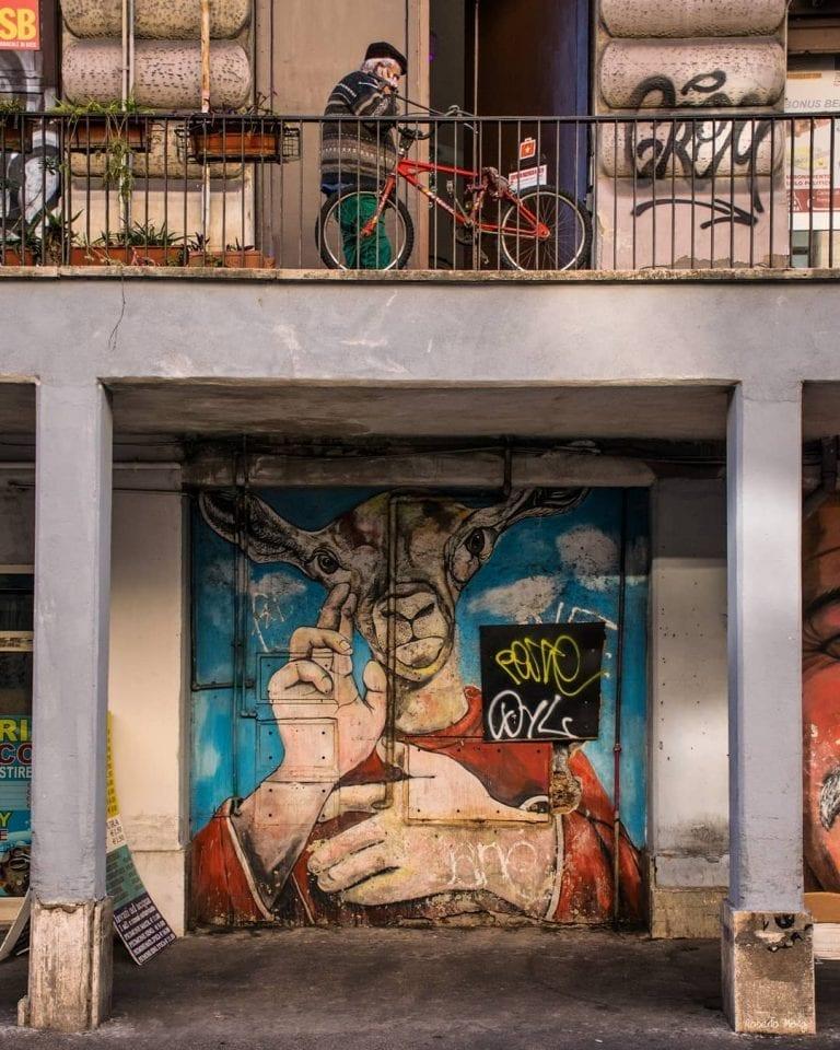 hidden graffiti near Roma Termini