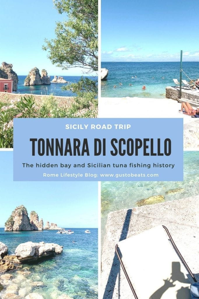 gustobeats blog post about tonnara di scopello the place in sicily which is more than just instagrammable