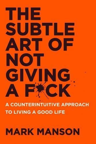 gustobeats book club for self development subtle art of not giving a fuck