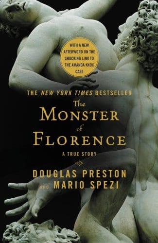 gustobeats book club for rome and italy The Monster of Florence