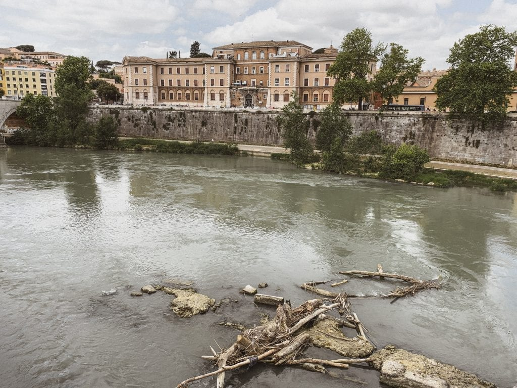 gustobeats how rome and italy feel from my visual diary june 2020 with the view of Tiber river in Rome