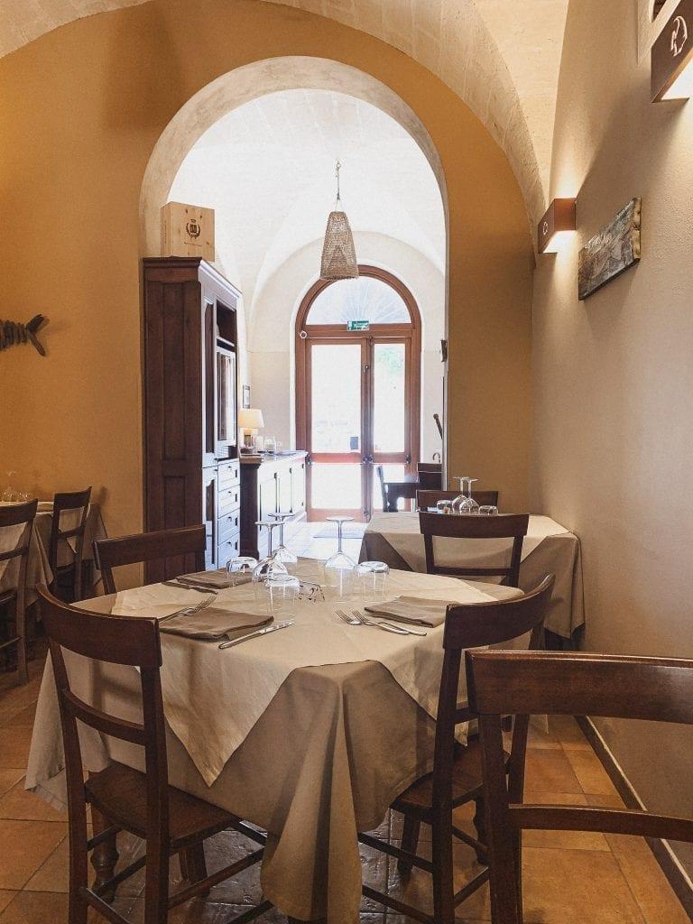 Salamerci restaurant in Trapani