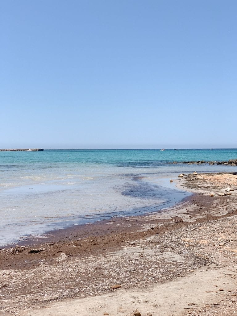 the best kept beach near Trapani has the finest sands and most beautiful seawater