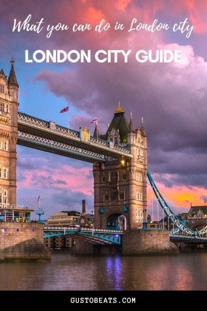 Mini London city guide with must-see London monuments, art, history, food and some cute neighborhoods to explore. If you have only 3 to 4 days, check it out.