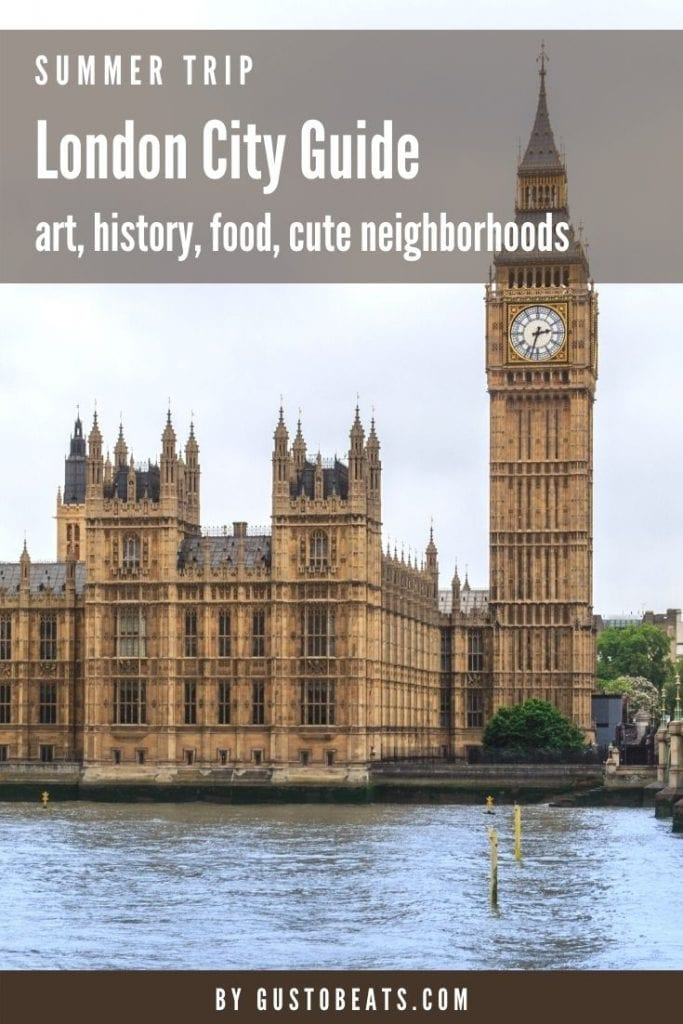 Mini London city guide with must-see London monuments, art, history, food and some cute neighborhoods to explore. This is made based on our second visit to London and during a post-covid period so I have specially added a few tips for your city visit.