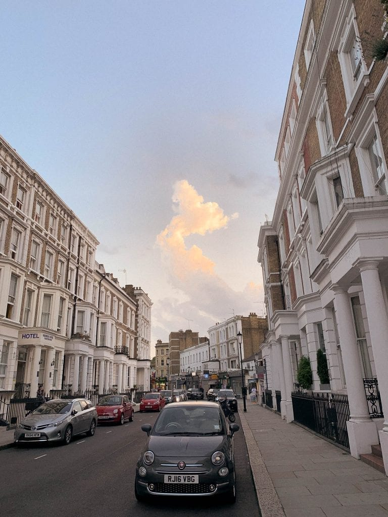 Earl's Court neighborhood in London is super quiet and beautiful with a convenient connection with metros to everywhere inside London city or outside the city