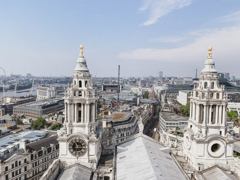 London from the top of St.Paul's Cathedral