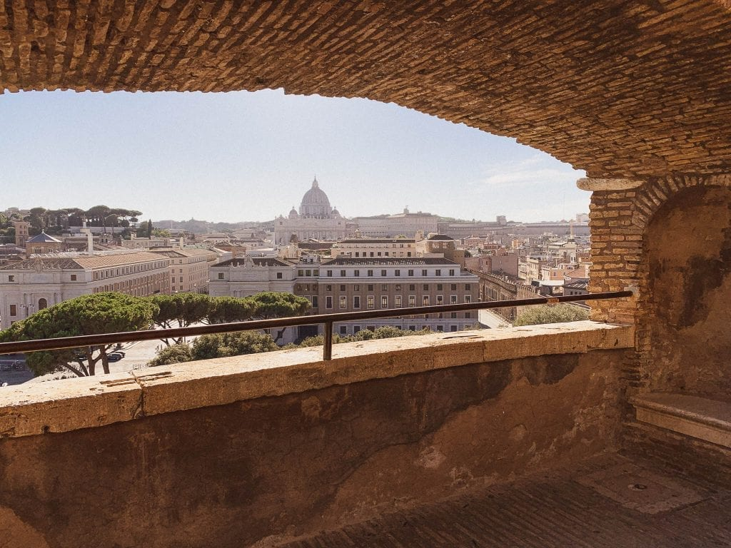 you cannot miss a visit to castel sant angelo in Rome when you wonder how italy feels