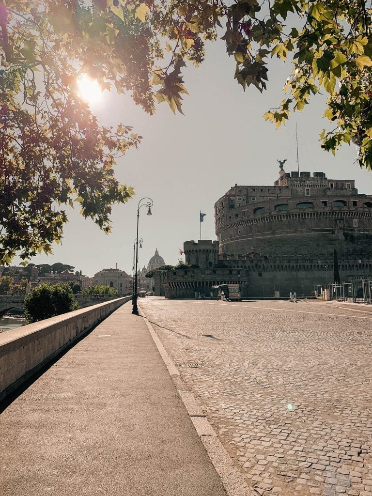 how italy feels through my eyes in a still-very-hot late afternoon in Rome