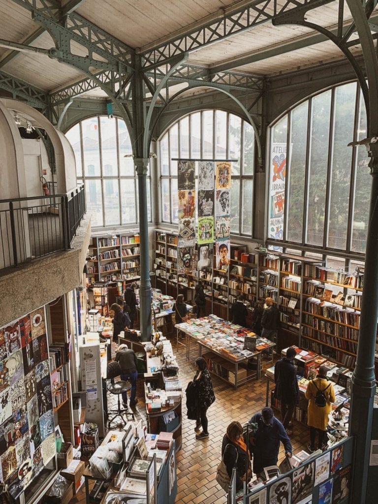 visit Halle Saint Pierre modern art museum in Montmartre